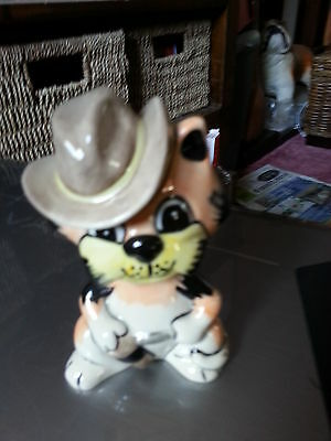 Lorna Bailey The Duke cat based on John Wayne excellent condition FREE P&P
