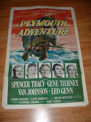 Plymouth Adv. Tracy-1952 One  Sheet