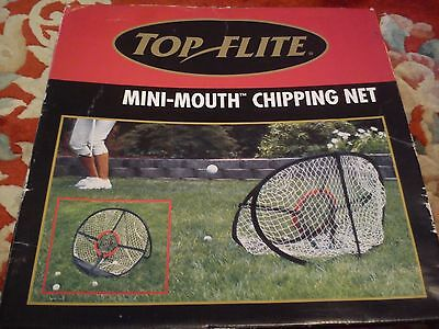 "Pop Up Chipping Net - 8"" And 24"" Target Nets - Top Flite - Golf -  Free P&P"
