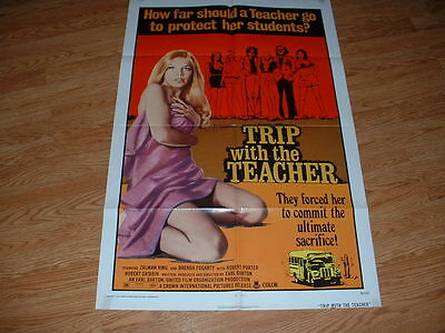 Trip With The Teacher- King-  1974One Sheet