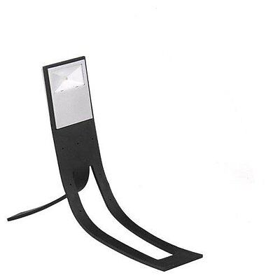 2x(Black Flexible White LED Clip On Reading Book Light Lamp for Amazon Kindle CT