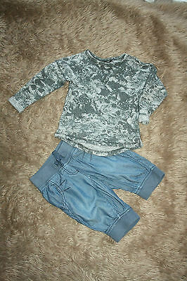 NEXT Girl's Top & Cropped Trousers ( 3 Years)