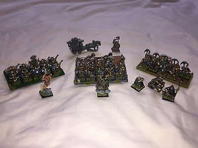 Well Painted Resin And Plastic Dwarf Army Movement Trays Games Workshop Citadel