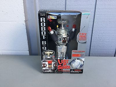Trend masters lost in space robot B-9 collector's series chrome version  sealed
