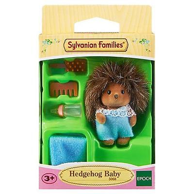 Sylvanian Families Hedgehog Baby with Blanket