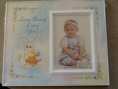 Bunny Love, Baby Picture Frame - NEW