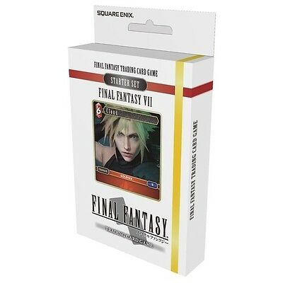 Final Fantasy Trading Card Game Final Fantasy 7 Starter Set Brand New