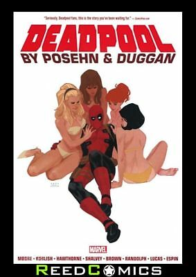 DEADPOOL BY POSEHN AND DUGGAN OMNIBUS HARDCOVER (1344 Pages) New Hardback