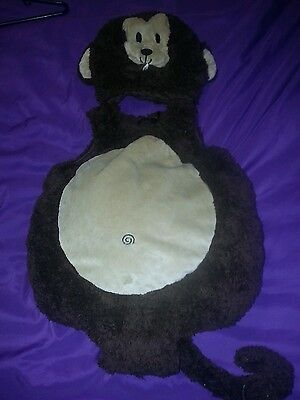 Toddler Size 12-18 Months Monkey Costume Halloween Costume 2 Pieces