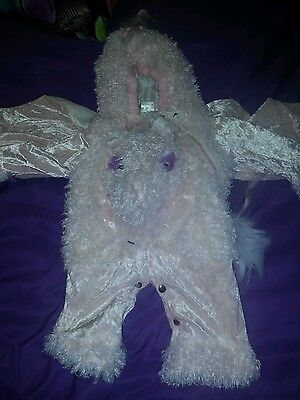 Toddler Baby 12-24 Months Unicorn Halloween Costume Pink Girls Mythical Costume