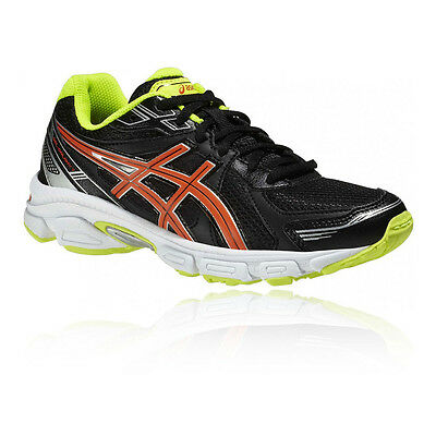 Asics Gel Galaxy 7 GS Junior Black Cushioned Running Sports Shoes Trainers