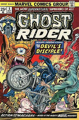 Ghost Rider #8 (Oct 1974, Marvel) F/VF