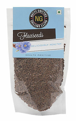 Nuttygritties Deliciously Healthy Flax Seeds /Linseeds - 5.29 Oz