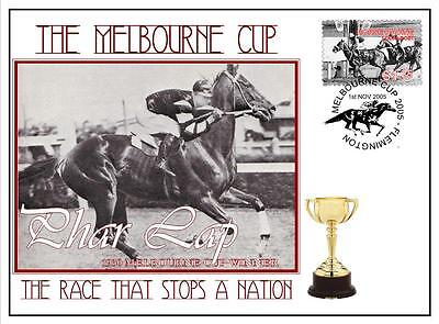 Melbourne Cup Horse Racing Cover, Phar Lap 1930