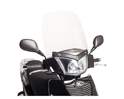 Windscreen PUIG TS clear for KYMCO People S 200i