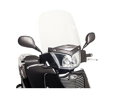 Windscreen PUIG TS clear for KYMCO People S 300i
