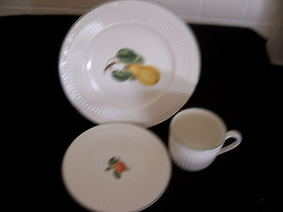 Mikasa Cup Saucer and Plate