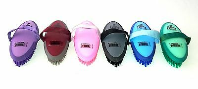 HORSE EQUERRY ENGLISH BODY BRUSH SOFT TOUCH NON SLIP -Sale