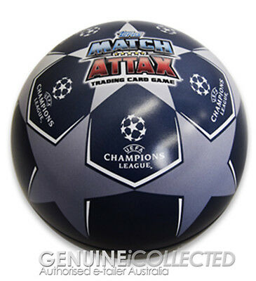 71-Card Match Attax UEFA 2016/2017 Ball Collectors Tin | TOPPS 16/17 Soccer GOLD
