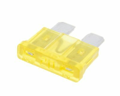 Fuse blade fuse 20A 19,2mm yellow