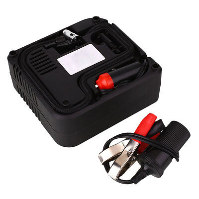 12v Car Motorcycle Motor Compact Mini Tyre Air Compressor Inflator Pump