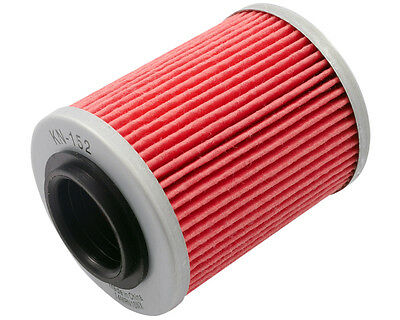 Oil Filter K & N KN152 for CAN AM Renegade 800 R X-xc EFI