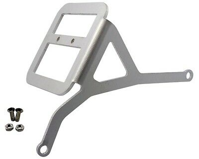 License plate holder laterally silver for ATALA Byte 50
