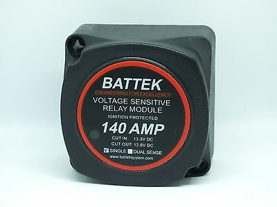 BATTEK Single Sense Smart Battery Isolator VSR 12V 140A