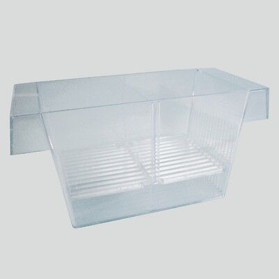 New Trixie Fish Hatchery - Breeding Trap 3 chambers - Spawning & Young Fish 8051