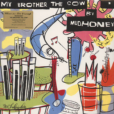 """Mudhoney – My Brother The Cow 180g White Vinyl LP + 7"""" New & Sealed 2014"""