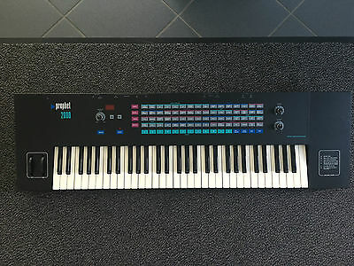 Sequential Circuits Prophet 2000 Sampler Vintage Design by DAVE SMITH
