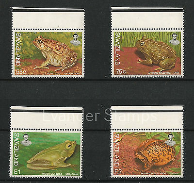 Swaziland 1998 Frogs. MNH