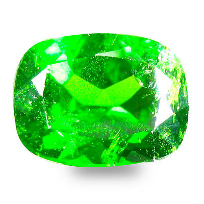 2.39 ct  Spectacular Cushion Shape (9 x 7 mm) Green Chrome Diopside Gemstone