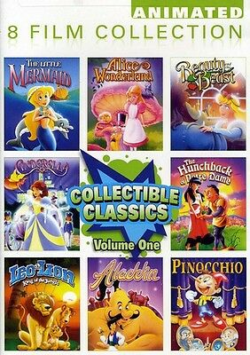 Collectible Classics: Animated 8 Film Collection, Vol. 1 [2 Disc (2012, DVD New)