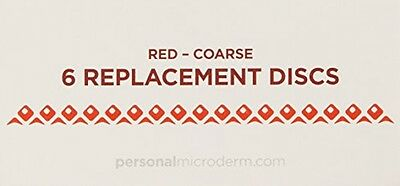 PMD Personal Microderm Replacement Discs, Coarse (Red)