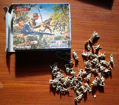 AIRFIX S18 - JAPANESE INFANTRY - HO 00 Scale - Code No. 01718-7