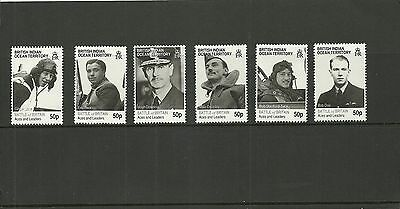 British Indian Ocean Territory Sg431-436 70Th Anniv Of Battle Of Britain  Mnh