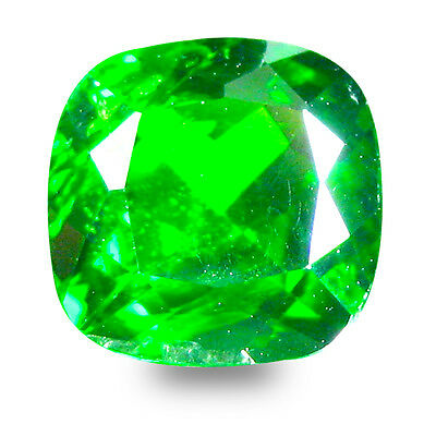 2.13 ct  Spectacular Cushion Shape (8 x 8 mm) Green Chrome Diopside Gemstone