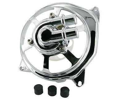 Water pump cover STR8 EXTREME CUT chrome for APEX Pro Shark 70/90