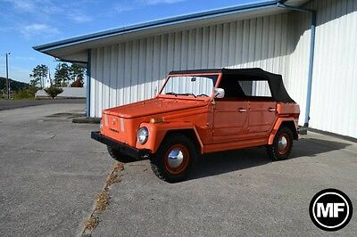 1974 Volkswagen Thing  Volkswagen Thing