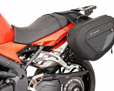 Saddlebag Set Blaze, 1680 Ballistic nylon, Triumph Speed ??Triple 1050, 08-10
