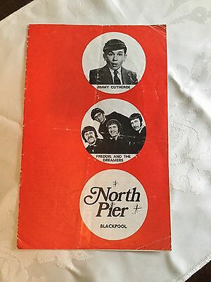 Jimmy Clitheroe North Pier Blackpool Theatre Programme 1971