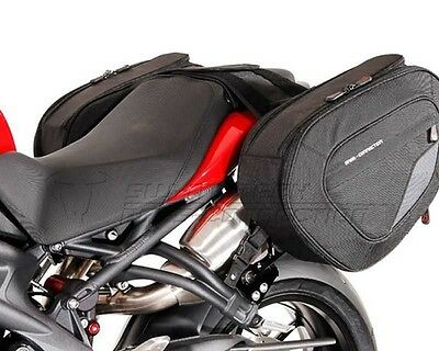 Saddlebag Set H Blaze, 1680 nylon ballistic, Triumph Speed ??Triple, 11-