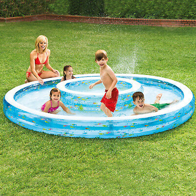 Intex Planschbecken Ø 279 x 36 cm Pool Kinderpool Schwimmbad Swimmingpool 57143