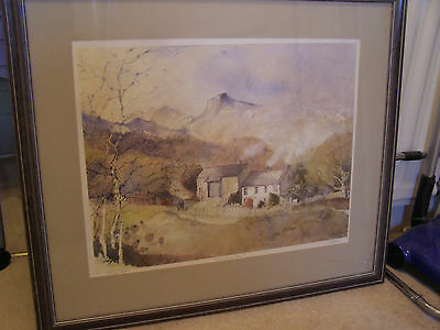 """Tony Lees Limited Edition Signed Framed Print """"Langdale Pikes"""" **REDUCED PRICE**"""