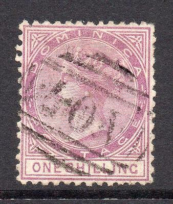 Dominica 1/- Stamp c1874 Used SG3