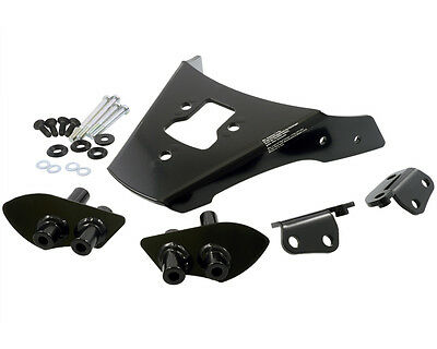 Porter Alu-Rack for Honda CB600 / S Hornet, 98-06, black, PC36, PC34