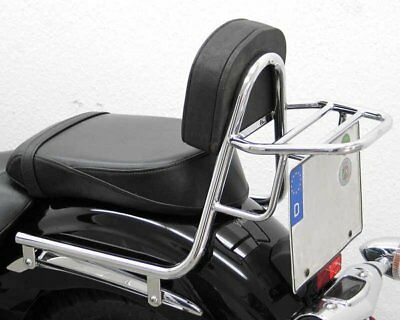 Sissy Bar with pad and carrier, Yamaha XVS 1300 Midnight Star 2007-