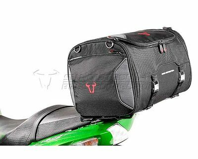 Tail bag motorcycle bag Rackpack, 1680 Ballistic nylon, black, 36 l - 45 l