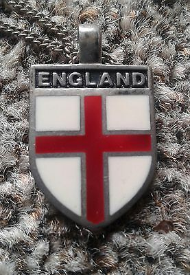England Pendant Sterling Silver